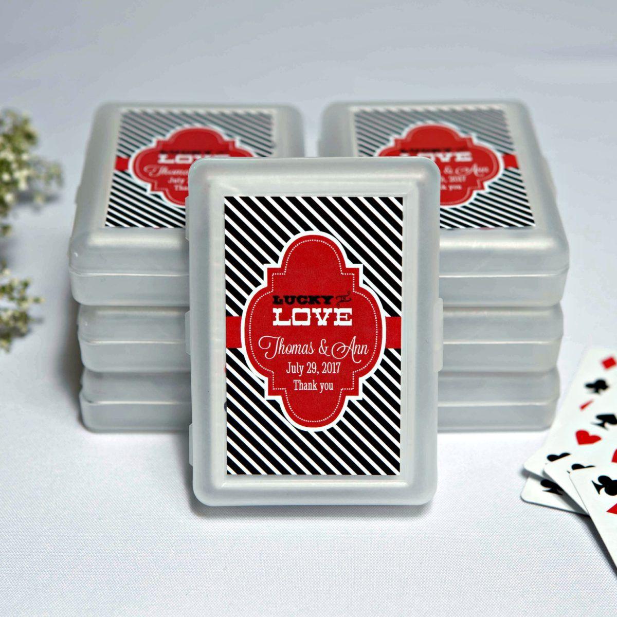 Las Vegas Themed Playing Cards | Las Vegas Wedding Favors Ideas ...