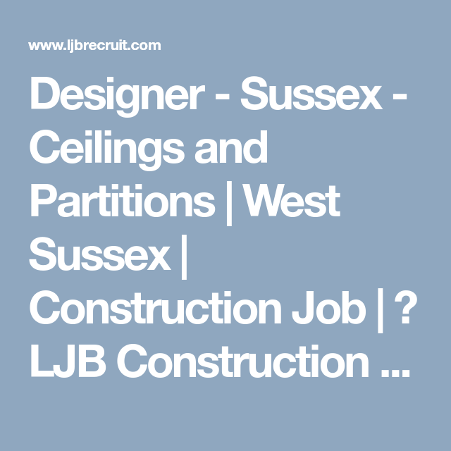 Designer Sussex Ceilings And Partitions West Sussex