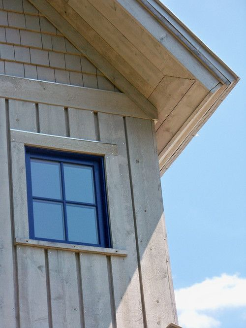 Reverse Board And Batten House Siding Cabin Board