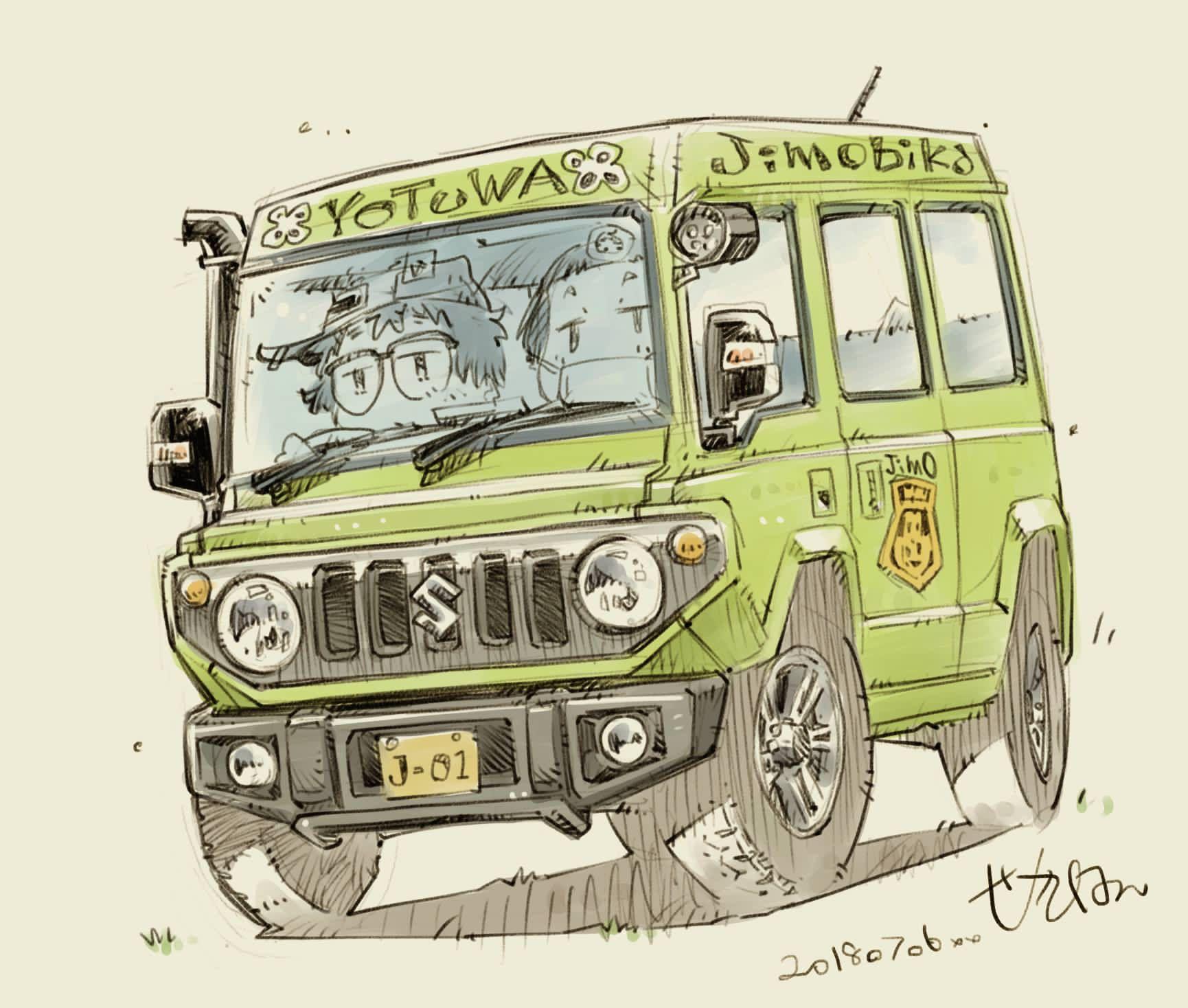 クルマ おしゃれまとめの人気アイデア Pinterest Pong Songsai かわいい イラスト 手書き 車 イラスト レトロカー