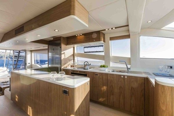 Kitchen Inside The Numarine 70 Flybridge 1