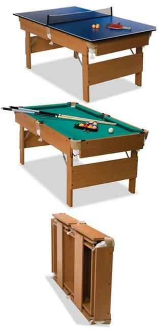Space Saving Furniture Design Ideas For Small Rooms Billiard Tables - Pool table in small space