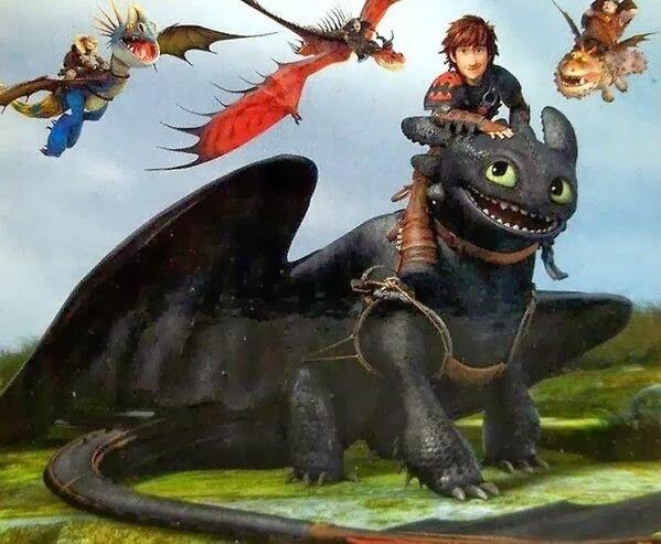 Como Entrenar A Tu Dragon 2 Chimuelo Alfa Buscar Con Google