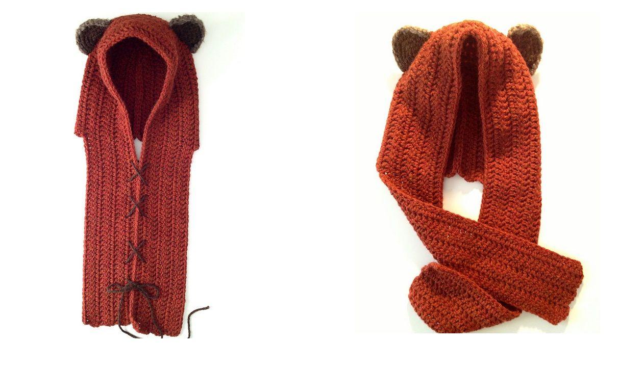 Yub Nub Scoodie | Crochet, Crochet girls and Knit crochet