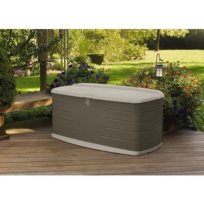 99 Rubbermaid From Home Depo Large Resin Deck Box With Seat 12