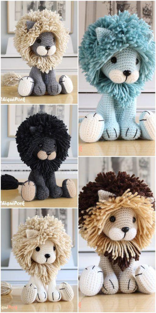 Free Amigurumi Doll And Animal Crochet Patterns - Amigurumi #amigurumis