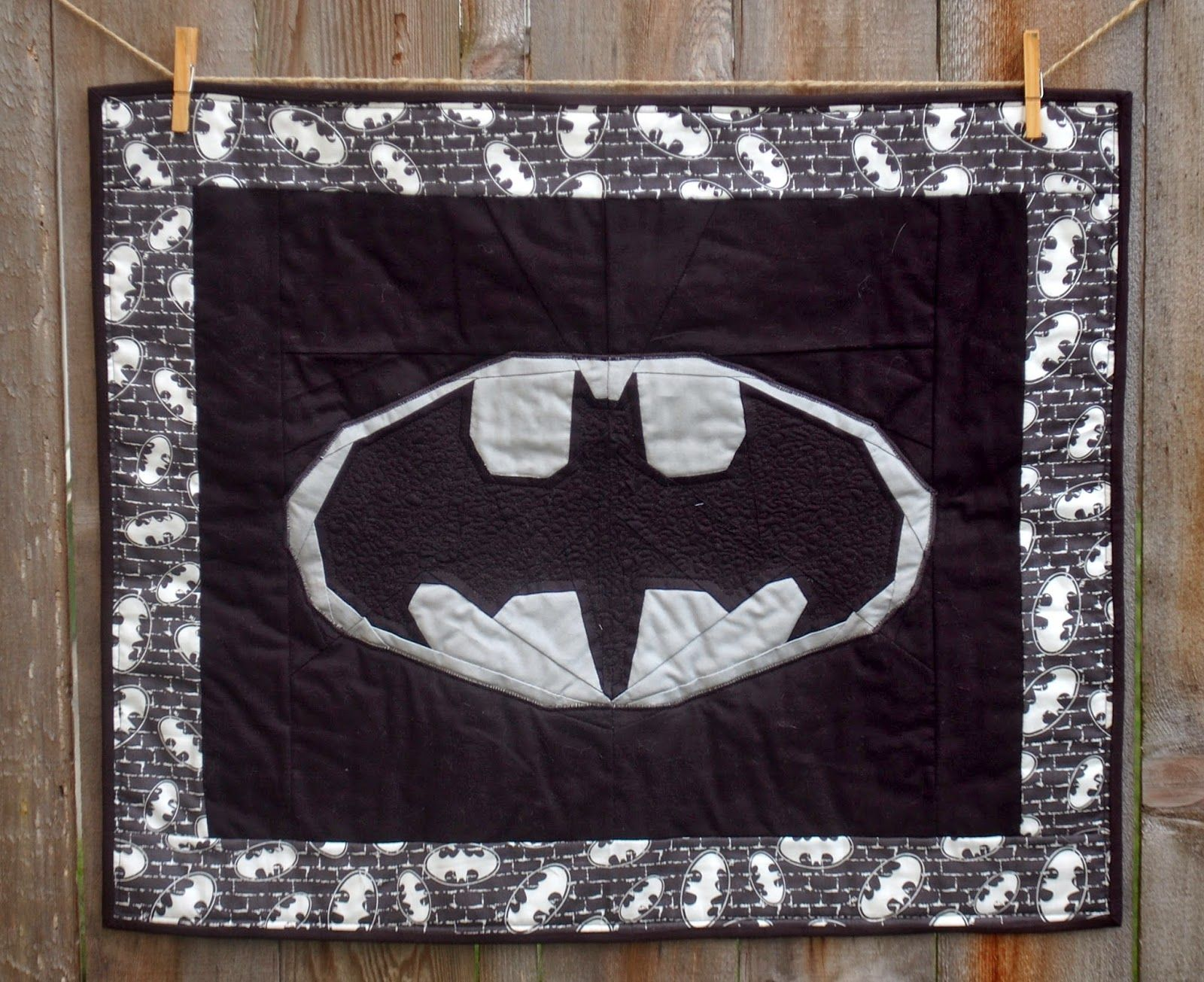 Batman Quilt | Quilting | Pinterest | Batman quilt, Batman and Blanket : batman quilt pattern - Adamdwight.com