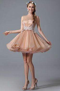 Schmeichelhaft Ärmellos Spitze Applikation Cocktail Kleid Party Kleid (04150701) #Cocktailkleider #Partykleider #eDressit