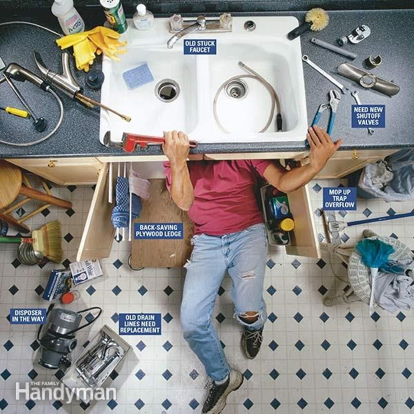 How to Replace a Kitchen Faucet   Kitchen faucets, Faucet and Kitchens