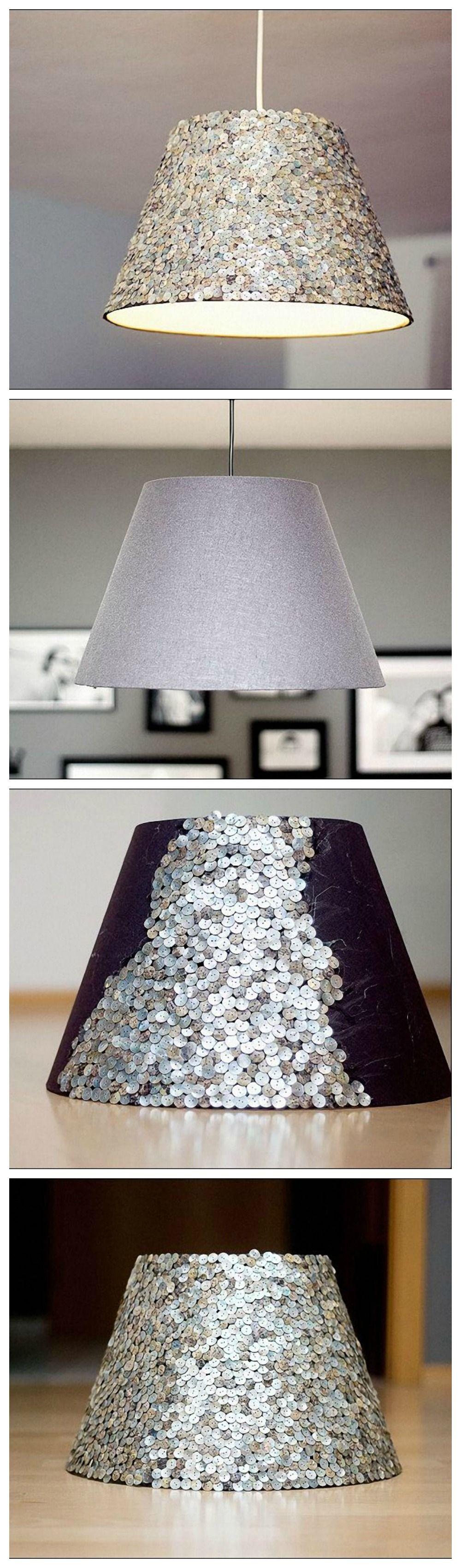 kostenlose anleitung lampenschirm mit pailletten zum glitzern bringen free diy tutorial. Black Bedroom Furniture Sets. Home Design Ideas