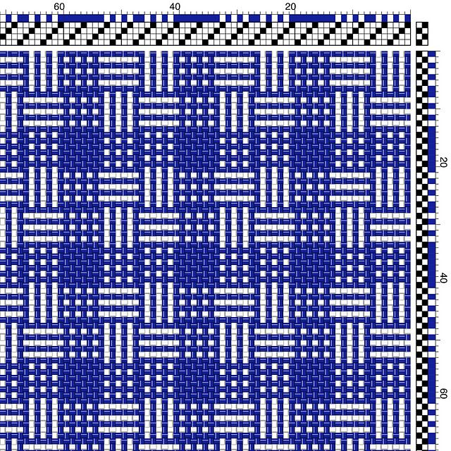 Ravelry: RobStrauss\' Kasuri-type Weave | Weaving | Pinterest | Telar