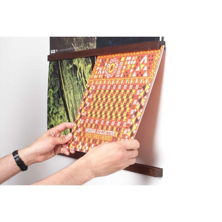 Harold Queue Vinyl Display System Walnut With Images Record Display Vinyl Record Display Vinyl