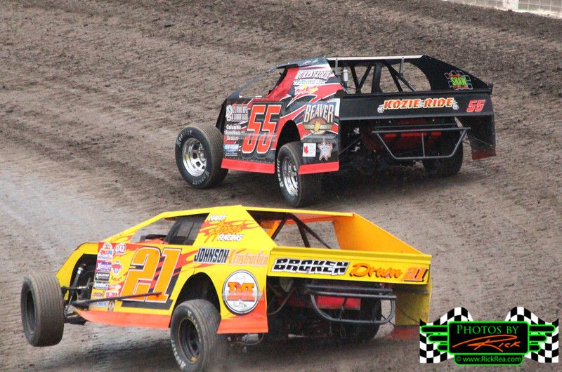 """""""Wheels Up Time to Pass"""" 21 Midwest Modified Race Car"""