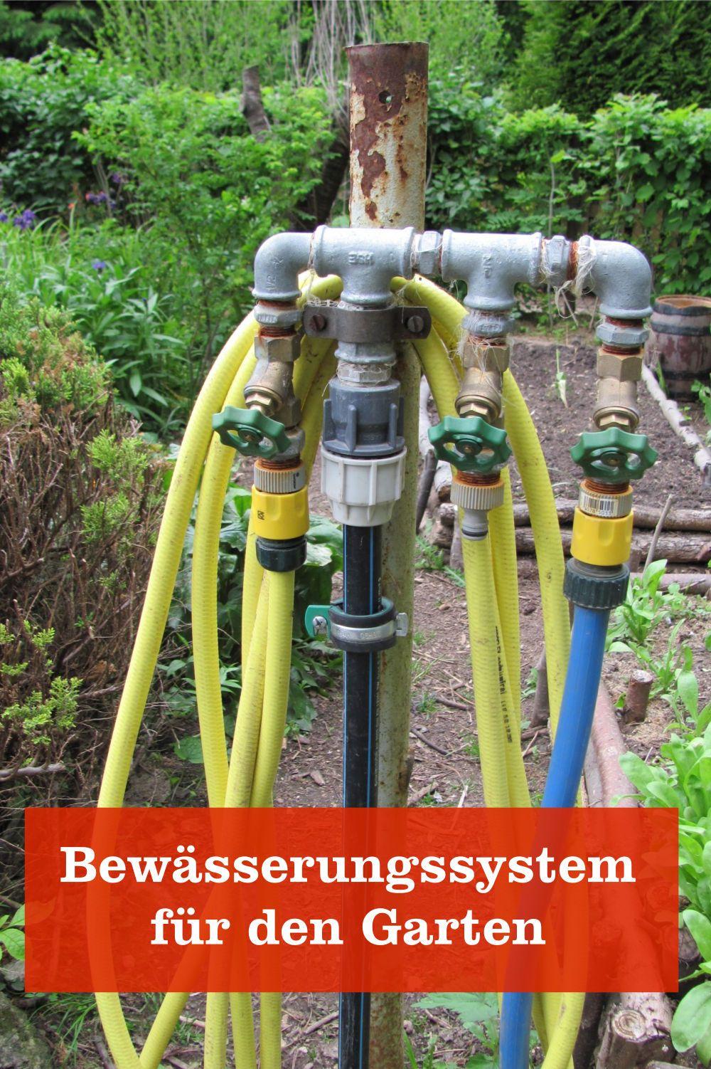 Intelligente Bewasserungssysteme Fur Den Garten Gartenbob De Der Garten Ratgeber Bewasserung Garten Garten Bewasserungssystem Wasserleitung Garten