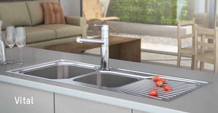 Clark - Kitchen Sink - Vital http://www.clark.com.au/products ...