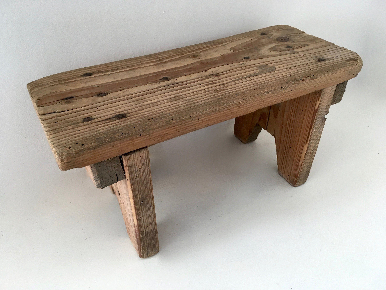 Sensational Stool Bottom Wooden Foot Rest French Vintage Wooden Stool Short Links Chair Design For Home Short Linksinfo
