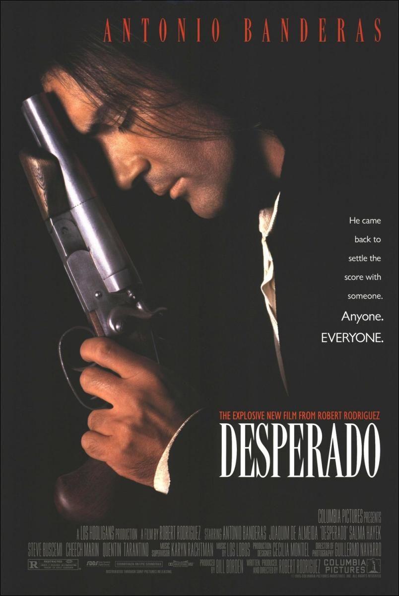 Desperado 1995 Peliculas Cine Peliculas Peliculas Divertidas