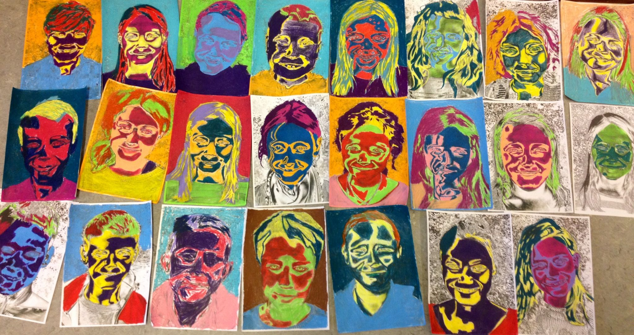 Andy Warhol Kids From 4 Grade With Images