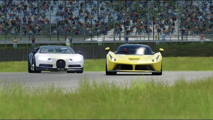 Bugatti Chiron vs Ferrari LaFerrari vs Ferrari F12 TDF Bugatti Chiron vs Ferrari LaFerrari vs Ferra