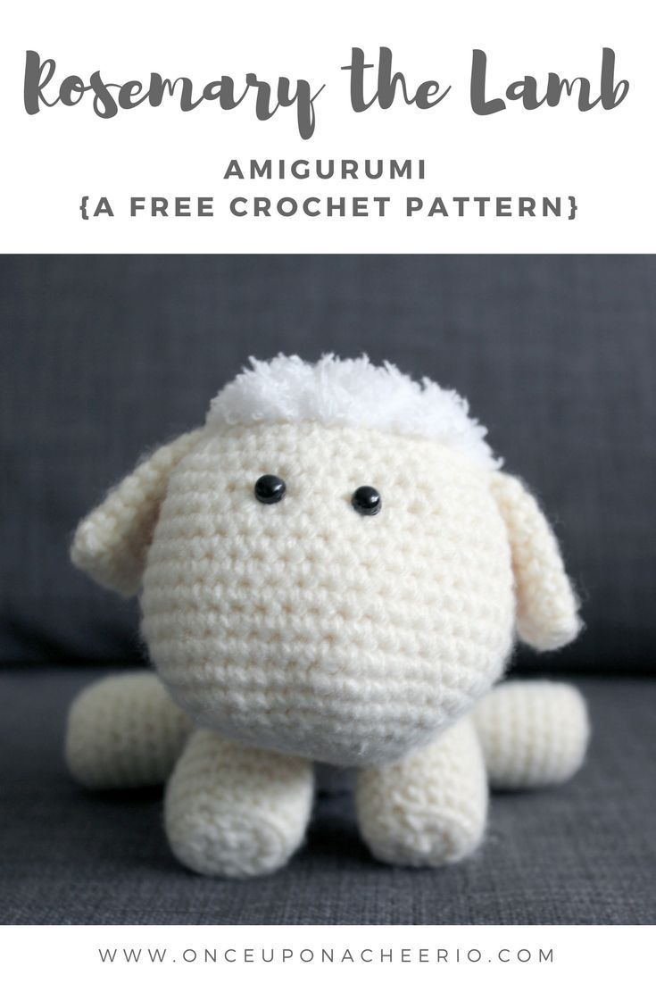 Rosemary The Lamb Crochet Pattern Animaux Et Autres