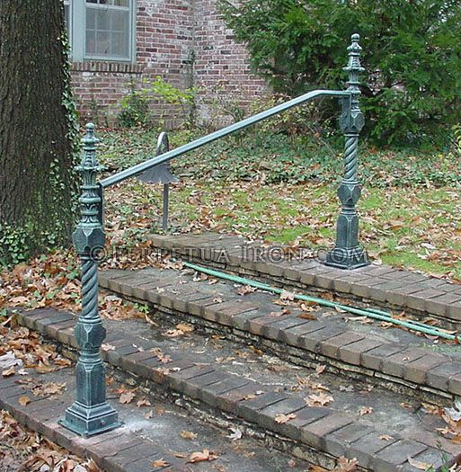 Best Exterior Railing Wrought Iron Hand Rail Only Antique 400 x 300