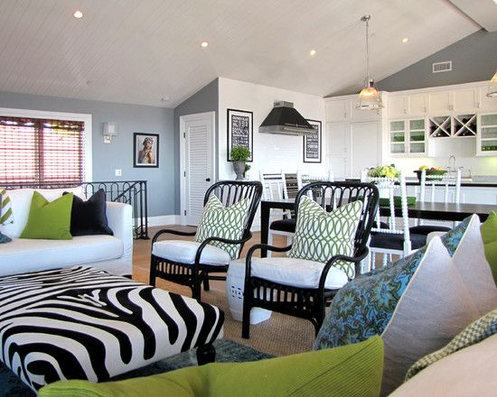 Best Living Room Black White And Lime Green Design Pictures Remodel Decor And Ideas Living Room 640 x 480