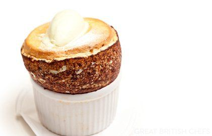 Pistachio Soufflé Recipe - Great British Chefs