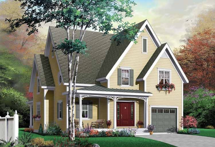 Eplans Country House Plan - Unusually Versatile - 1875 Square Feet and 3 Bedrooms from Eplans - House Plan Code HWEPL10325