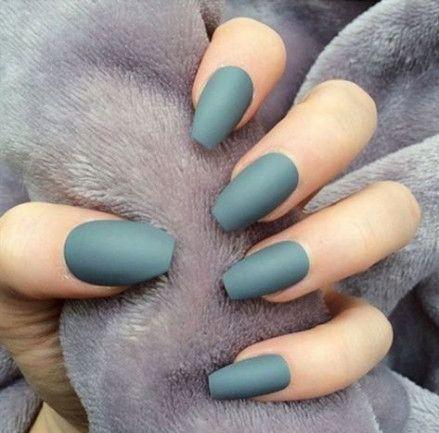 best nails acrylic coffin grey colour 65 ideas nails