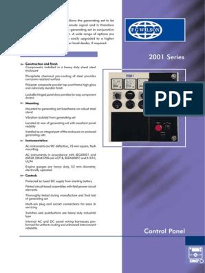 Fg Wilson 2001 Control Panel Wiring Diagram Pdf Buscar Con Google Control Panel Paneling Control