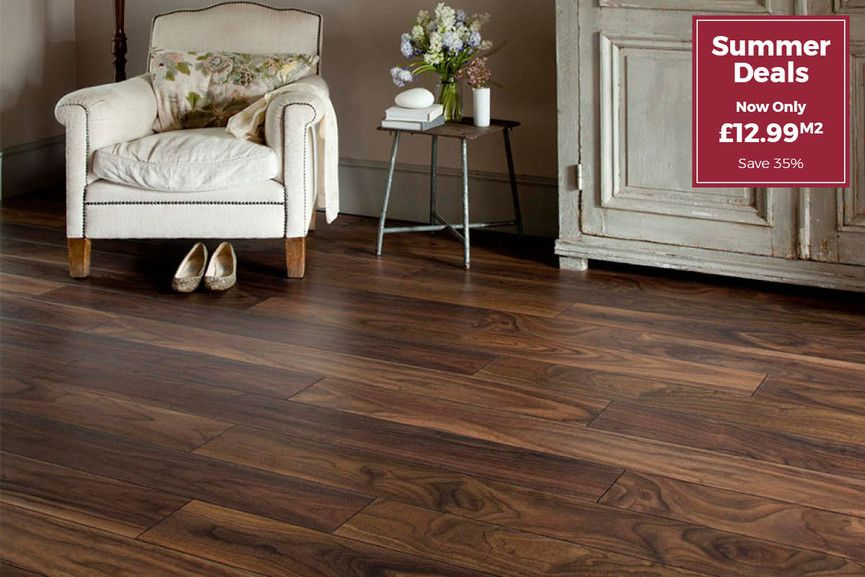 Series Woods 10mm Laminate Flooring American Walnut Laminate Flooring Flooring Flooring Trends