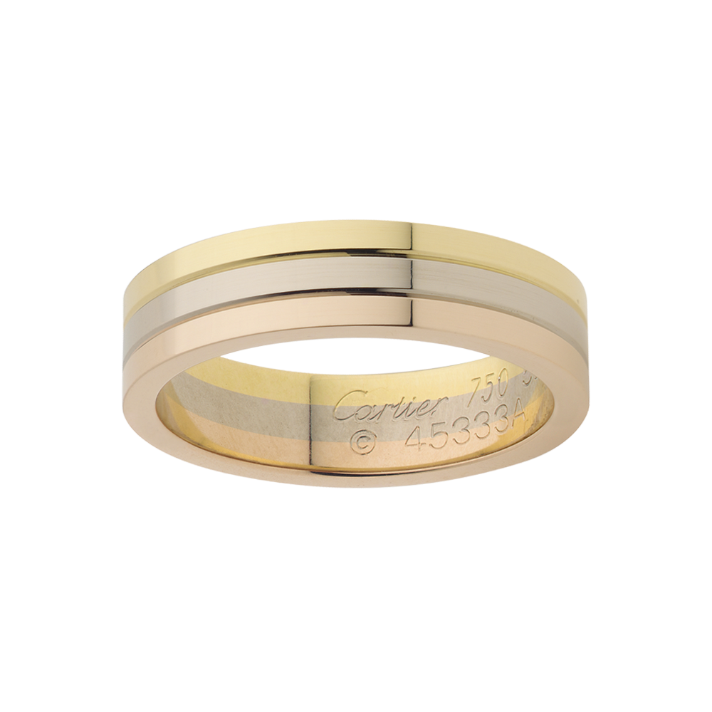 Cartier Trinity Wedding Band I Like Shiny Things Pinterest Discover The Beautiful Three Gold Bands