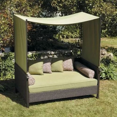 Outdoor-Patio-Furniture-Sofa-Bed-Daybed-Canopy-Lounger-Deck-Pool-Yard-Couch-NEW