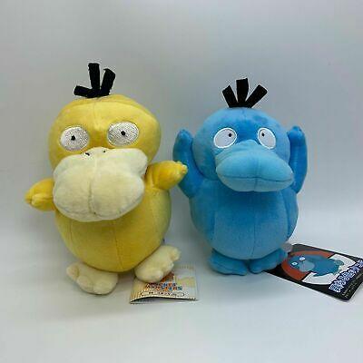 Advertisement - 2X Pokemon Blue Shiny Psyduck #054 Plush Soft Toy Teddy Stuffed Doll 7