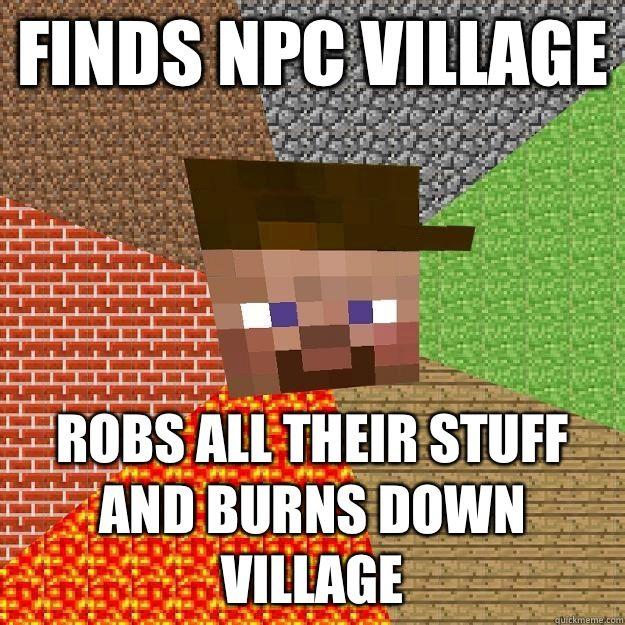Funny Memes Minecraft : Scumbag minecraft memes quickmeme