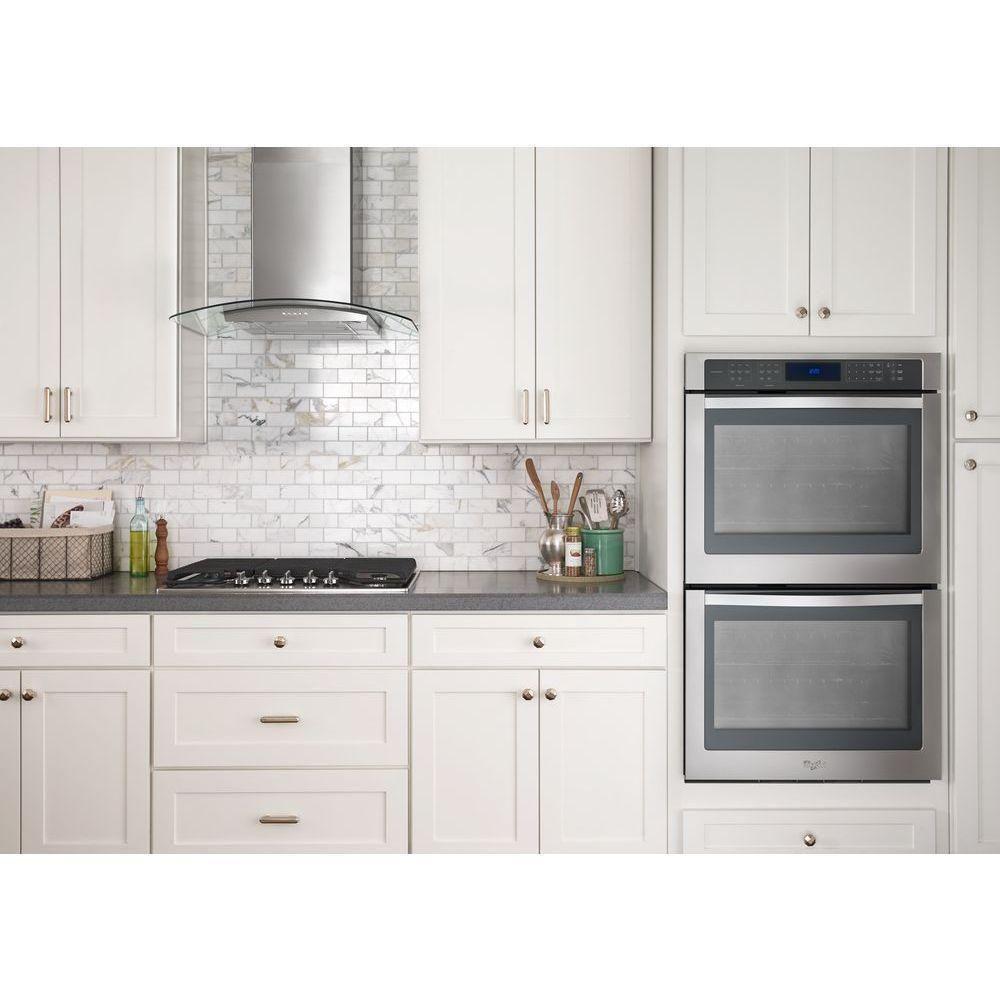Whirlpool 30-inch Concave Glass/ Wall-mount Range Hood | House ...