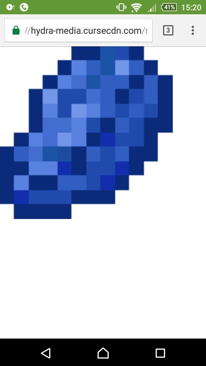 Lapis Lazuli Minecraft Perler Hama Beads Minecraft Perler Minecraft Art Minecraft