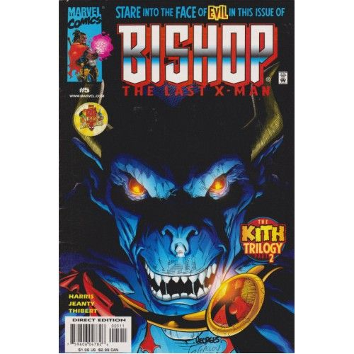 BISHOP: THE LAST X-MAN #5 | 1999-2001 | VOLUME 1 | MARVEL | X-Men