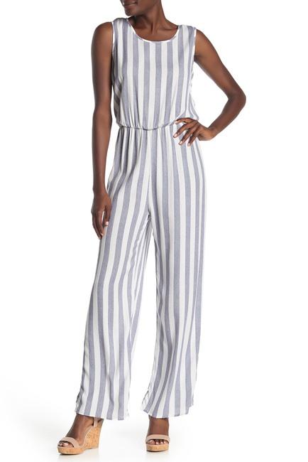 Como Vintage | Yarn Dye Stripe Print Jumpsuit #nordstromrack