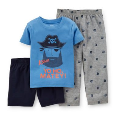 Carter's® 3-pc. Pirate Pajama Set – Toddler Boys 2t-5t found at ...