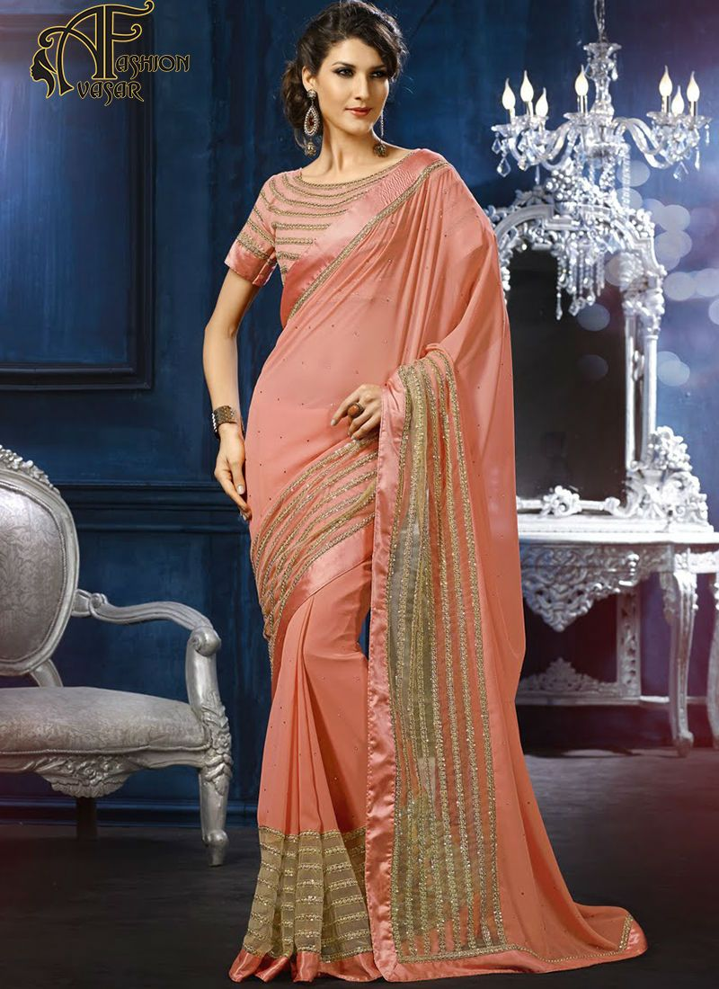 http://www.avasarfashion.com/product/orange-georgette-sarees-online ...