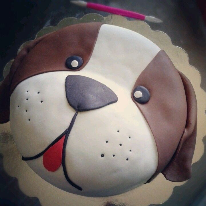 Dog Face Cake Google Search Party Pinterest Cake Birthday