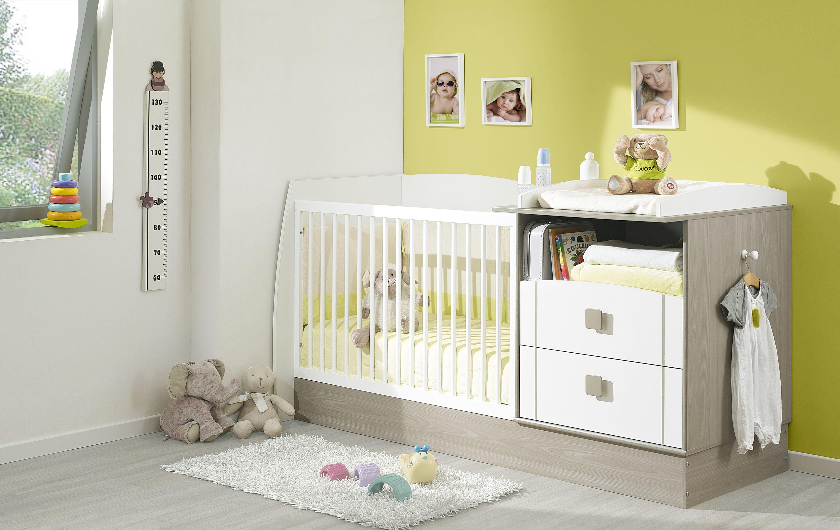 lit bébé compact transformable Jules Galipette