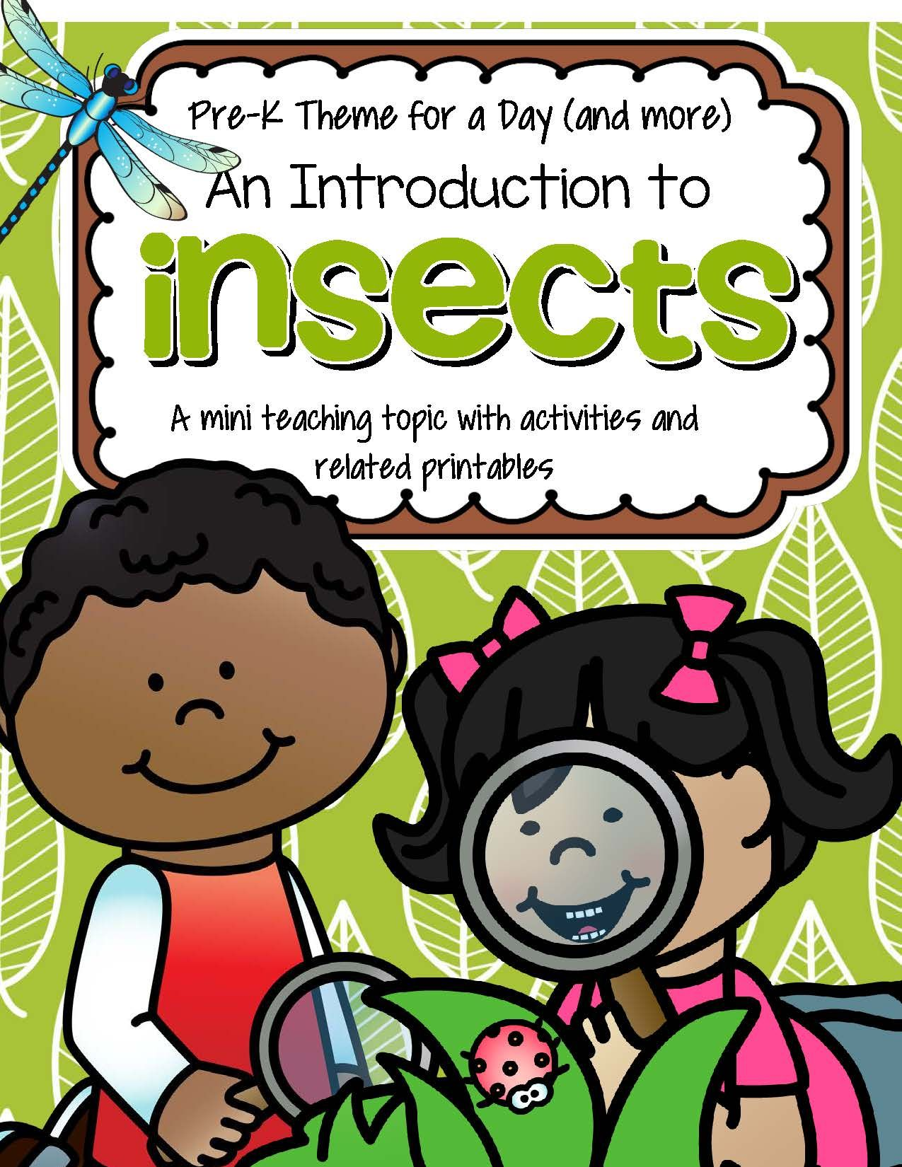 Insects Math Science And Literacy Centers And Activities