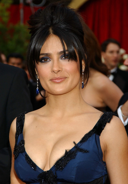 salma hayek pussy slips
