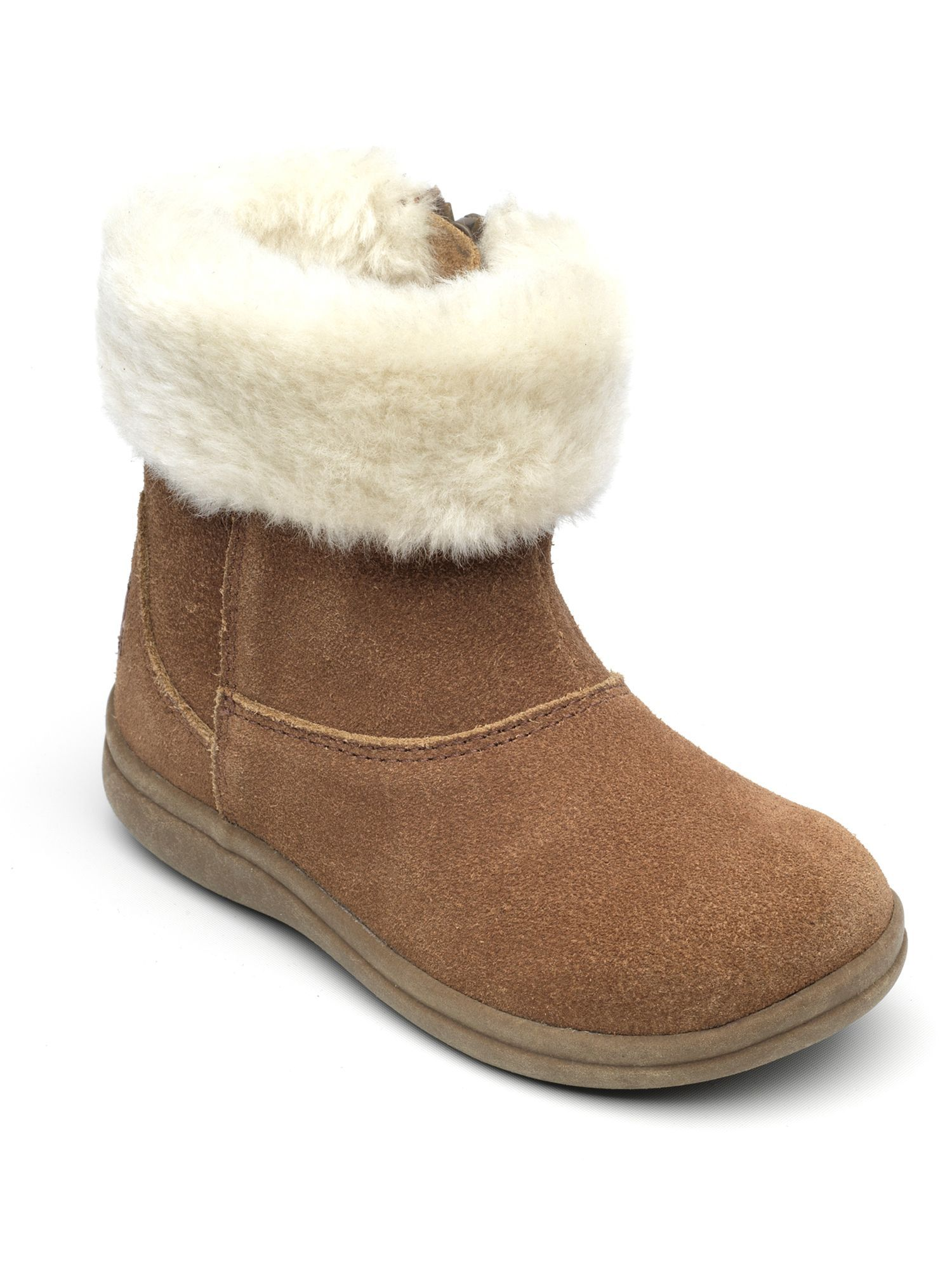 303fcb4c Chipmunks Girls Alaska tan suede boot, Brown | Kids Shoes | Boots ...