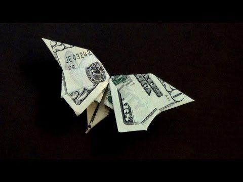 Geldscheine Falten Für Geldgeschenke Schmetterling Youtube