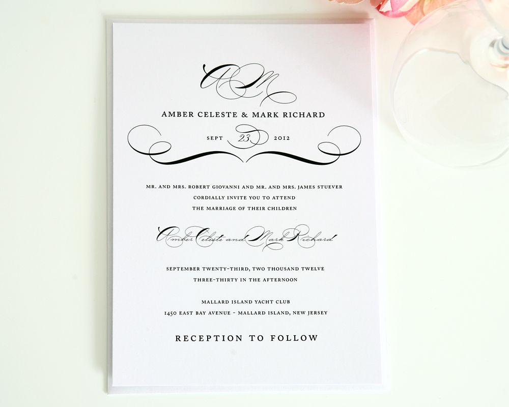 Vintage Class Wedding Invitations Vintage Wedding Invitations Templates Modern Wedding Invitation Wording Wedding Invitation Wording Examples
