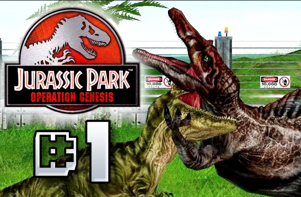 download jurassic park operation genesis pc game