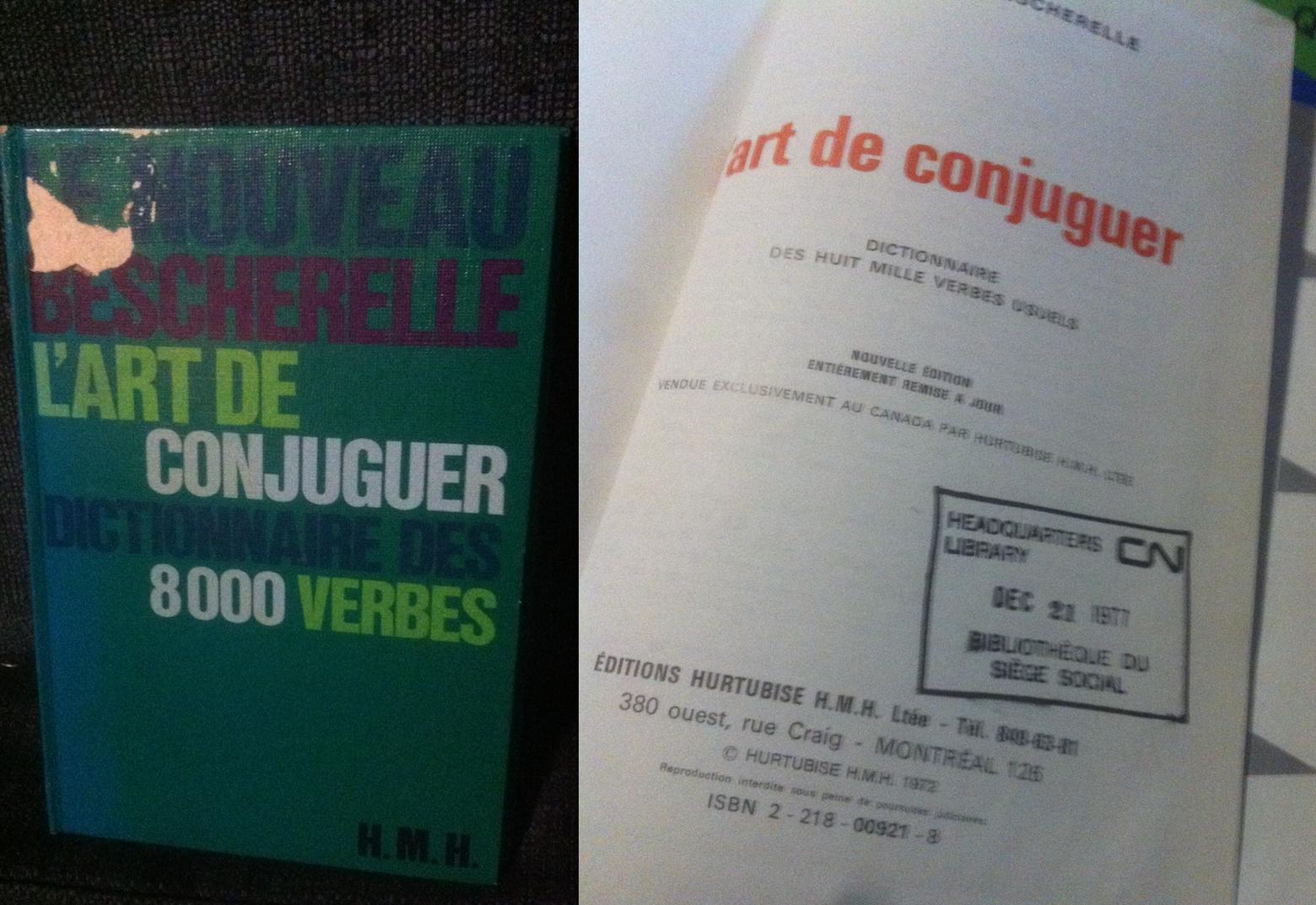 L Art De Conjuguer Le Nouveau Bescherelle 1972 Tampon Cn Headquarters Library Librairie Siege Social In 2020 Facebook Sign Up Facebook Sign Personalized Items
